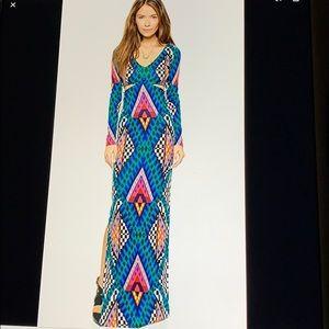Mara Hoffman Ponte cutout gown nwt
